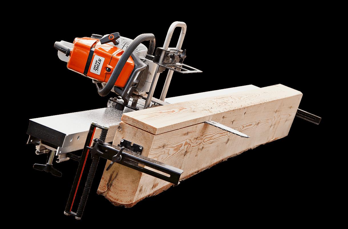 Timberjig Mini-Sägewerk