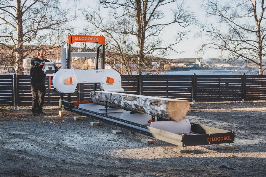 B751 Bandsägewerk mit 8 kW Elektromotor