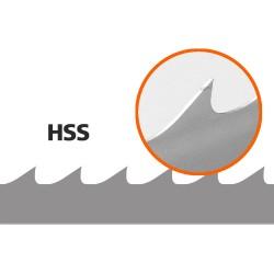 5 Stk. Sägebänder (HSS) für B1001 L:4310 mm W:33 mm