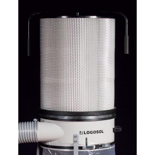 Staubfilter für Absaugung 1,1 kW und 2,2 kW