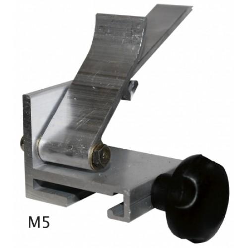Anschlag mit Spannarm M4, M5, M6