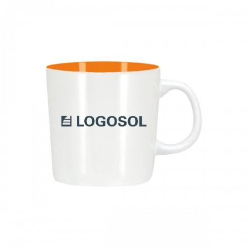 Logosol-tassen (Weiss)