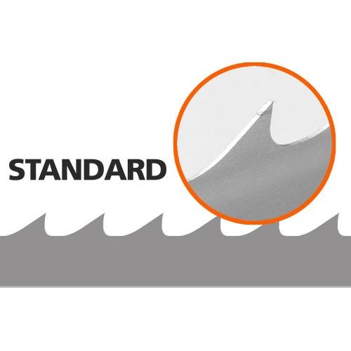 5 Stk. Sägebänder für HD36, L:4246 mm, W: 34 mm (BACHO Standard)